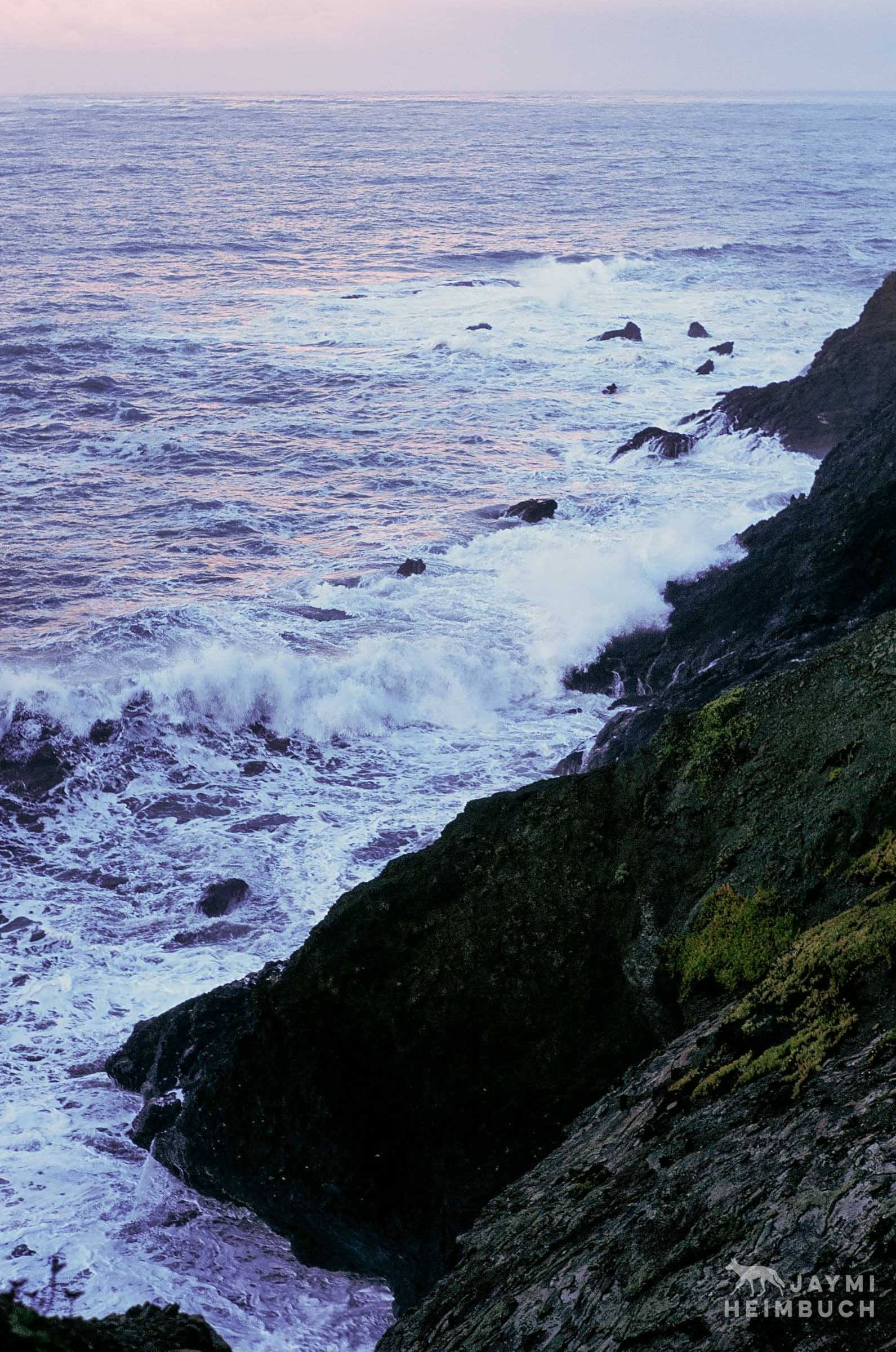 35 mm coastal landscape
