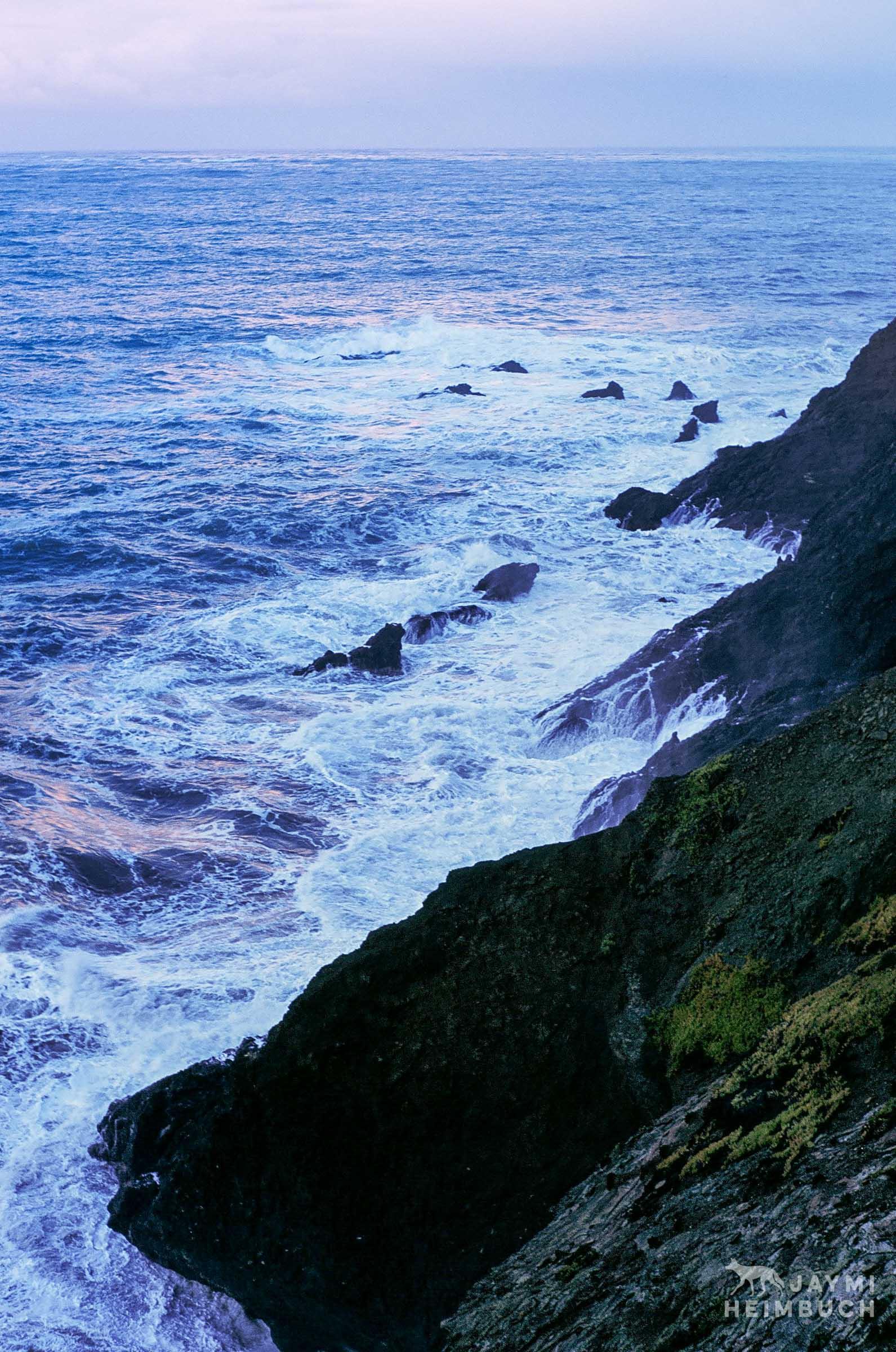 35 mm coastal landscape