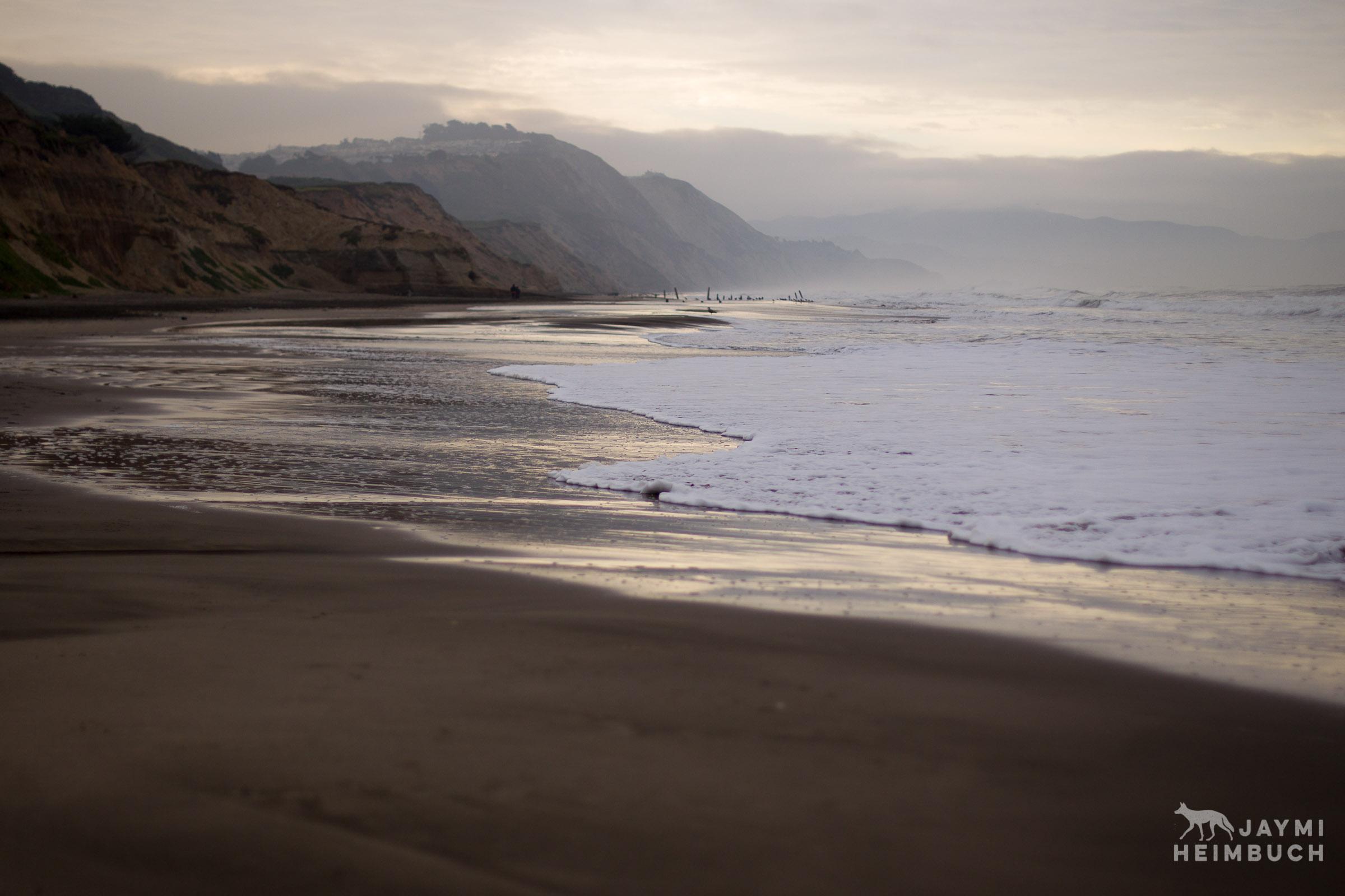 Beach at sunrise